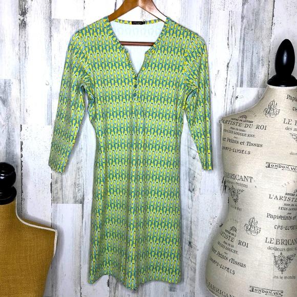 J. McLaughlin Lynn henley dress EUC